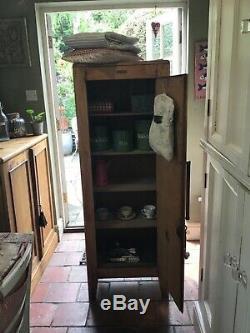 Cuisine Antique Armoire Pin Larder Kubbyland Cru Cabinet Rétro Gouvernante