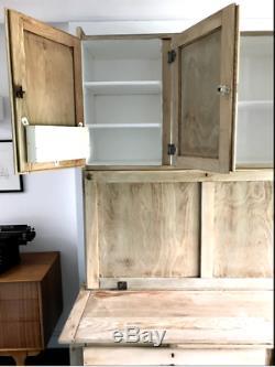 Cuisine Antique Vintage Oak Armoire Cabinet Larder Gouvernante 1920 Easiwork