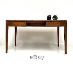 Desk Vintage Écriture En Bois / Cuisine Salle Table 1960 Ex Mod Ecole / Usine