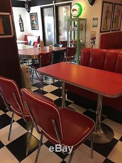 Dîner Meubles American Vintage Années 50 Style Retro Home Bar, Cuisine, Café Salle À Manger