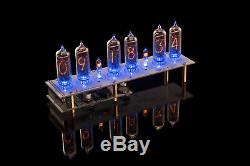 Diy Kit Pour In-14 Tubes Nixie Clock Pcb + Toutes Les Parties Tubes Gra & Afch