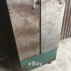 Double Casiers Vintage Industriels, Loft Rétro Génial À Deux Portes Retravaillé