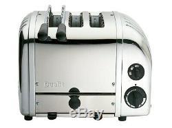 Dualit Classique Combi 2 + 1 Trois Sous Toaster 3 Tranches En Acier Inoxydable Poli