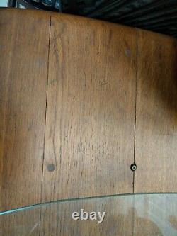 Ercol Retro Vintage Extra Large En Bois Réfectoire Salle À Manger Cuisine Table
