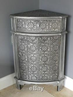 Français Vintage Style Détaillé Coin Chevet Garde-meubles Armoire