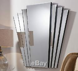 Gatsby Extra Large Style Art Déco Retro Vintage Vintage Overmather Wall Mirror 39 X 39