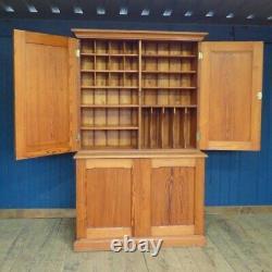 Grand Vintage Pitch Pine Larder Cabinet Dresser Placard Rangement Cuisine Bois