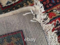 Grandes Pers Tapis Tapis Vintage Ian Orien Tal Laine, Mir Rouge Royal 207 X 261 CM