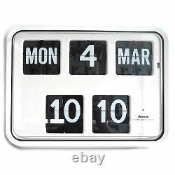 Grayson White Digital Facile À Lire Calendrier Horloge Murale Banque Boutique Bnib G225