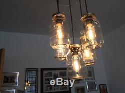 Groupe De 5 Kilner / Eerin Mason Preserve Jam Jar Plafond Pendant Light