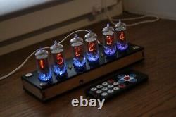 Horloge Tube Nixie Avec 6pcs Rft Z570m Tubes Enceinte Fine 5 Pas Upside Down 2