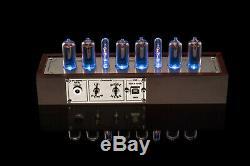 In-nixie Tubes 8-2 Horloge Musicale, Usb, Rgb, Arduino, Divergence Mètres Gra & Afch