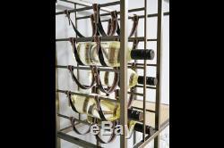Industriel Rustique Régénérés Métal Vin Cabinet Rack Boissons Unité De Stockage (de Dx6080)