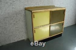 Kandya Cuisine Armoire Cabinet Sideboard 60 Vintage Retro Midcenture # 1779