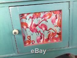 Lave-mains / Bahut, Bleu, Rose, Mobilier, Childs Armoire, Salle Unité De Stockage