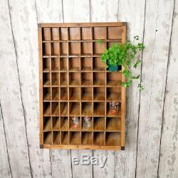 Le Compartiment Fixé Au Mur De Trou De Pigeon 56 Compartiments En Bois De Stockage De Compartiments Rayonne
