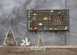 Le Style Industriel Suspendu D'armoire D'étagère De Miroir D'oni Étire Le Cristal