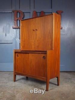 MID Century Vintage Retro Des Années 1960 En Teck Cocktail Cabinet Boissons Bar Style Danois