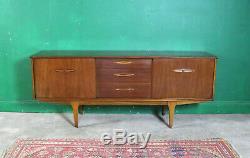 Milieu Du Siècle Jentique Bahut, Teck, Vintage, Rétro, Stockage, Salon De Tv Cabinet