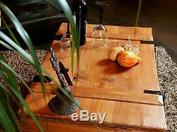 New Rustique Table À Café Pin Bois Coffre Coffre Blanket Box Vintage Cottage Style