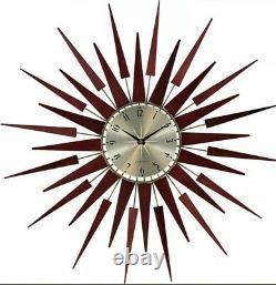 Newgate De Pluton Horloge Sunburst Design Diamètre - (nouveau)