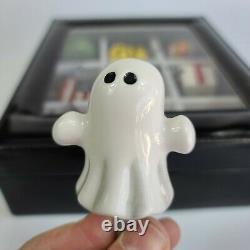 Nora Fleming Mini Boo Buddy Halloween Fantôme Retraité, Beau Et Rare