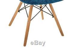 Nouveau Baignoire Eiffel Fauteuil Patchwork Chaise Retro Vintage Scandinave Moderne