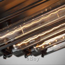 Nouvelle Lampe De Plafond Longue Murale Industrielle Retro Light Applique Murale Vintage Vintage