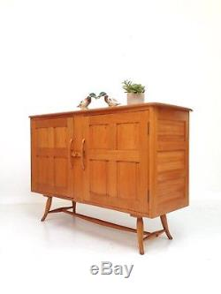 Original Vintage Retro Ercol Solide Buffet / Cabinet 1950/1950