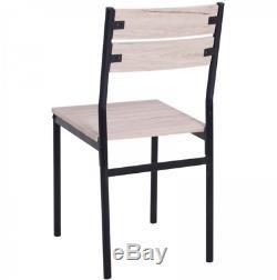Petite Salle À Manger Table 2 Chaises Équerre Petit-déjeuner Gain De Place Compact Nouveau Seater