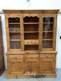 Pin Massif Gallois Dresser Vintage Retro Affichage D'armoires De Cuisine