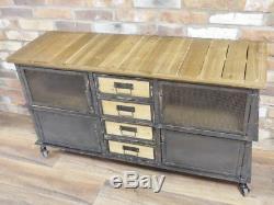 Placard Antique Industriel Vintage D'armoire De Buffet De Coffret De Cabinet Ab
