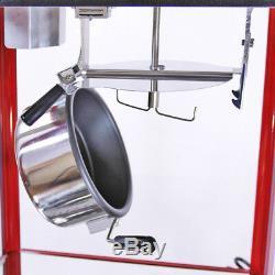 Popcorn Maker Retro Popping Machine 8 Ounce Pop Corn Faire Avec Matching Panier