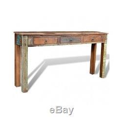 Rangement Latéral Industriel De Table De Console Industrielle De Meubles Rustiques Vintage