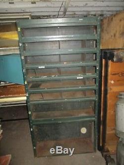 Rangement Vintage Industriel En Métal Pour Étagères De Rangement 73x 36 X 12 Vendu Chaque