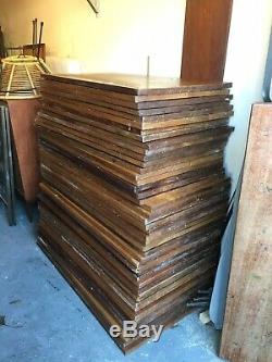 Régénérées Iroko School Science Lab / Plans De Travail Tables De Nombreuses Tailles Sont Également Disponibles