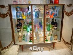 Retro Années 50 Années 60 Formica Cocktail Cabinet Vintage Boissons Bar Home Bar Eer Atomic