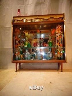 Retro Cocktail Cabinet Vintage Home Bar Années 50 Années 60 Former Atomic Era Drinks Bar
