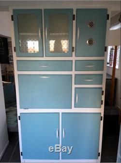 Rétro Larder Entièrement Refurbished1950s Cuisine Armoire Cabinet Cuisine