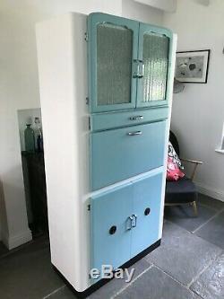 Rétro Larder Entièrement Refurbished1950s D'armoires De Cuisine Armoires Cuisine