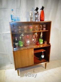 Retro Teak Cocktail Cabinet Vintage Home Bar 50 Ans 60