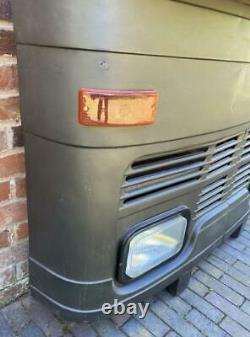 Rétro Vintage Inspiré Truck Lorry Bus Home Bar / Compteur / Sideboard Matt Black
