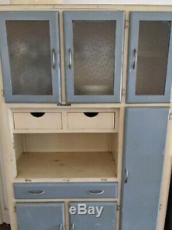 Retro Vintage Larder 1950 Armoire Armoire Kitchenette