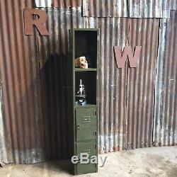 Réverbères Vintage Industrial Vintage Upcycled Funky Rétro 2 Portes D'atelier De Porte