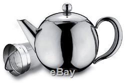 Rondeo Acier Inoxydable 1l 35oz Théière Avec Infuseur Lave-vaisselle Sans Égouttement