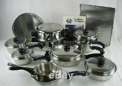 Saladmaster Tp304s Five Star En Acier Inoxydable 13 Piece Cookware Set + 3 Bonus