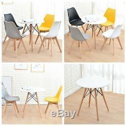 Salle À Manger Rectangulaire Table Et 4 Chaises Set Salon Cuisine Manger De Style Rétro