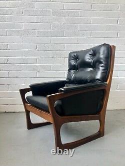 Salon De Fauteuil En Teck Vintage G Plan / Chaise Facile. Rétro Danois MID Century