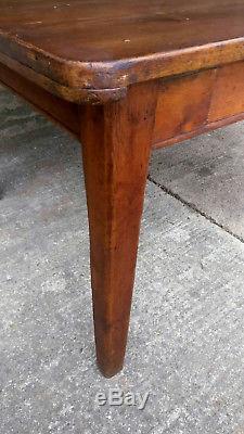Table À Dessin Vintage Des Années 1920 En Bois Massif Salle À Manger Cuisine