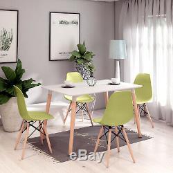 Table À Manger Avec 4 Chaises Repas Régler Cuisine Salle À Manger Décor Green Room Nouveau